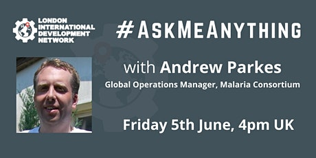 Ask Me Anything with Andrew Parkes tickets
