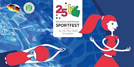 25. Deutsches Gehörlosen Sportfest 2021 Tickets