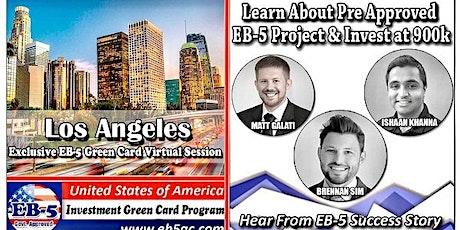 London EB-5 American Green Card Virtual  Market Series-  Meet the Expert & Success Story (ONLINE EVENT) tickets