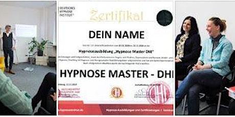 22.11.2021 - Hypnoseausbildung Premium - Stufe 1+2+3 -  in Hamburg Tickets
