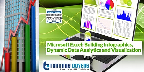 Microsoft Excel Building Infographics, Data Analytics and Visualization tickets