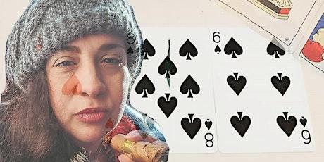 Tarotkarten Lesen mit 'Berliner Witch' Kelley Becker tickets