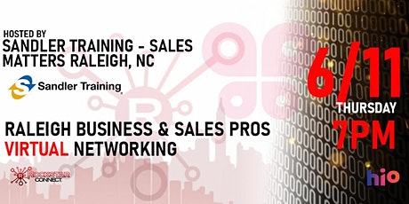 Free Raleigh Business & Sales Pros Rockstar Connect Event (June) tickets