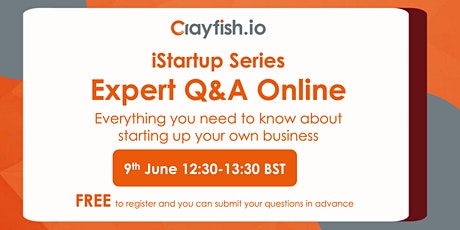 Turning your idea into a successful business: Expert Q&A Online bilhetes