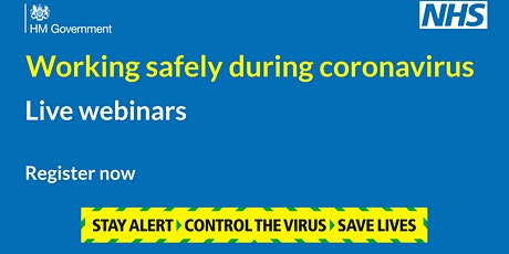 Working safely during coronavirus: construction & other outdoor work tickets