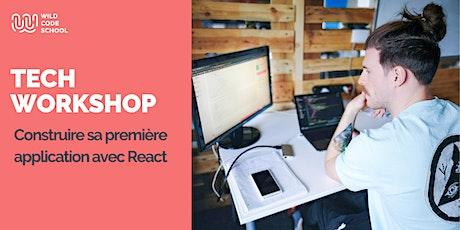 Online Tech Workshop - Construire sa première application avec React ⚛️ ingressos