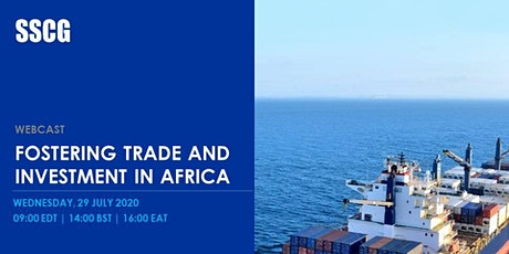 Fostering Trade and Investment in Africa tickets