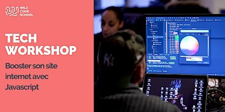 Online Tech Workshop - Booster son site internet avec Javascript billets