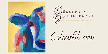 Bubbles & Brushstrokes - Country Cow LIVE Painting Session tickets