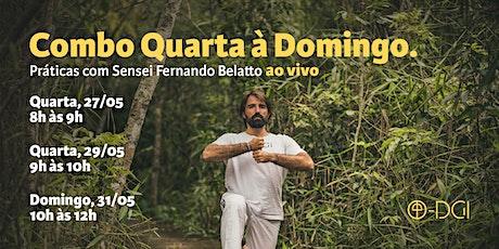 Combo de quarta à domingo - com Sensei Fernando Belatto ingressos
