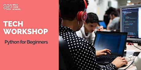 Online Tech Workshop - Python for Beginners tickets