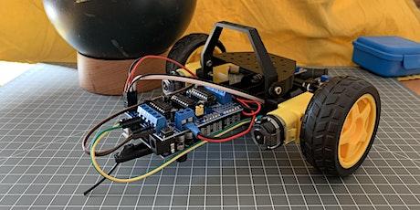 3D Druck trifft Arduino Coding: Rover Bot Workshop (ab 10J.) online Tickets