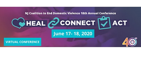NJCEDV Virtual Conference - Heal. Connect. Act. tickets