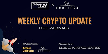 [Free Webinar] Weekly Crypto Update ingressos