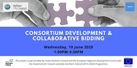 Consortium Development & Collaborative Bidding Webinar tickets