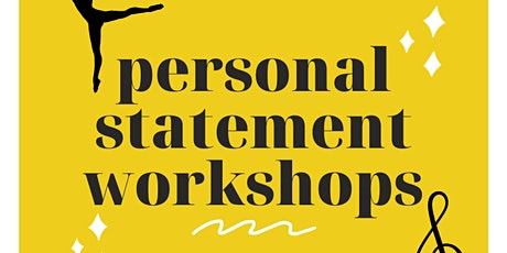 Personal Statement Workshop: Dance/Performing Arts tickets