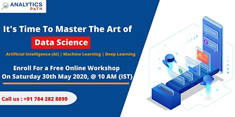 Register For Data Science Free Interactive Webinar On 30th May, 10 AM (IST) tickets
