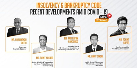 Insolvency and Bankruptcy Code – Recent developments amid COVID – 19 tickets