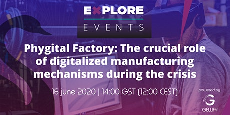 Session 8 – Phygital Factory: The Crucial Role of Digitalized Manufacturing tickets