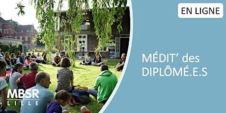MBSR Lille - Médit' des diplômé.e.s (mercredi soir) billets