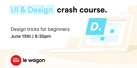 UI & Design Crash Course tickets