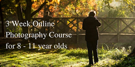 Interactive online photography course for creative children - Stage 1  tickets