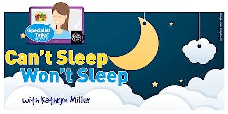 SNAP - Can't Sleep Won't Sleep  - with Kathryn Miller tickets