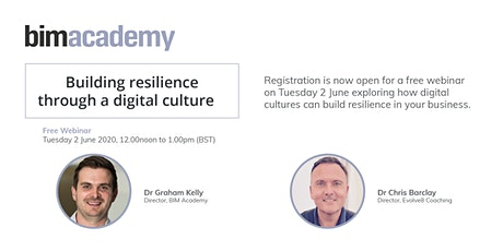 Building resilience through a digital culture  tickets