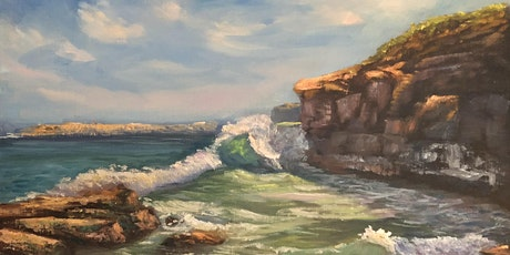 Full-day Oil Painting Class: Painting waves tickets