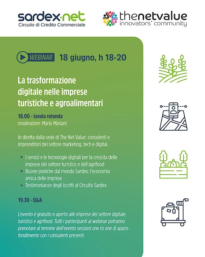 Immagine La trasformazione digitale nelle imprese turistiche e agroalimentari