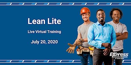 Lean Lite - Live Virtual Training tickets