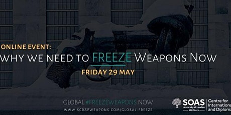 Why we need to Freeze Weapons Now tickets