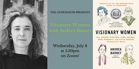 Andrea Barnet  on Change-makers: Four Visionary Women who Made a Difference tickets