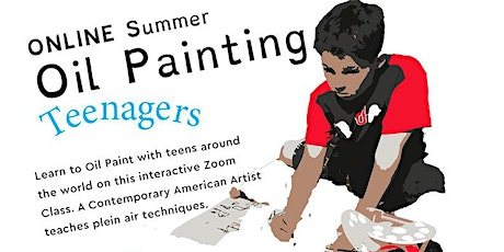 Oil Painting Online for Teens. Landscape and Architecture Summer Series tickets