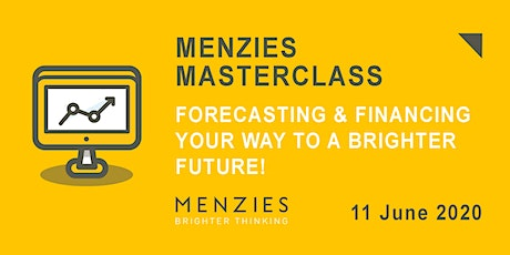 Virtual Masterclass: Forecasting & Financing your way to a Brighter Future! tickets