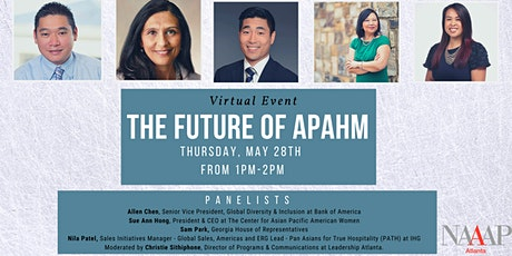 The Future of Asian Pacific American Heritage Month tickets