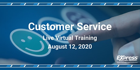 Customer Service - Live Virtual Training tickets