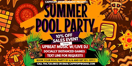 Summer Pool Party Sales Event (10% Off) tickets