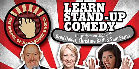 Learn stand-up comedy in Melbourne this July tickets