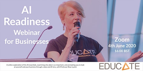 EDUCATE Presents: AI Readiness Step 2 Webinar for Businesses tickets