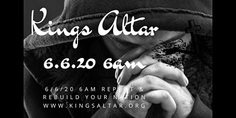 RETURN ! REPENT ! RESTORE:  THE KINGS ALTAR tickets