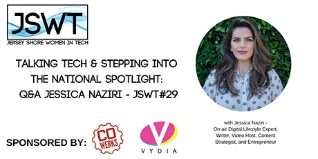 Talking Tech & Stepping into the National Spotlight: Q&A Jessica Naziri tickets