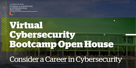 Cybersecurity Bootcamp Virtual Open House tickets