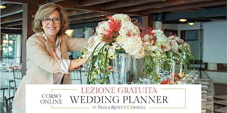 Vocazione Wedding Planner, Lezione gratuita online (seconda data) biglietti