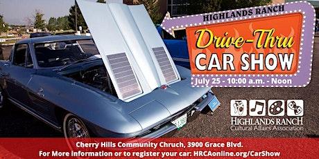 Drive Thru Car Show tickets