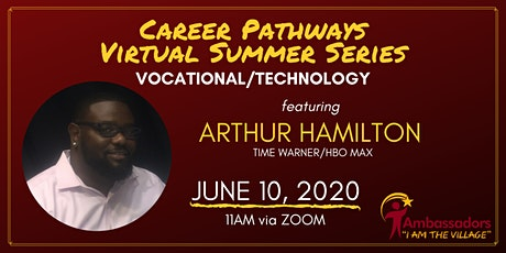 Career Pathways Virtual  Summer Series - Vocationa tickets