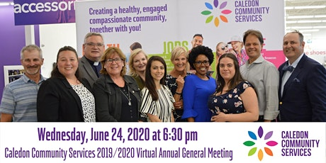 Caledon Community Services 2019/20 Virtual AGM tickets