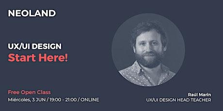 UX/UI DESIGN: Start Here! boletos