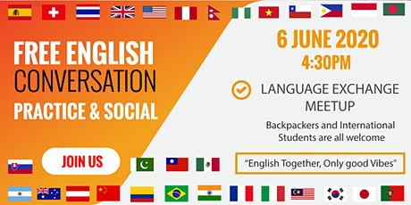 Language Exchange MEETUP Group tickets