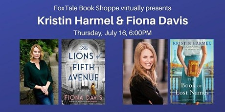 Kristin Harmel & Fiona Davis Virtual tickets